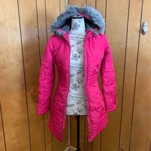 Calvin Klein long puffer coat